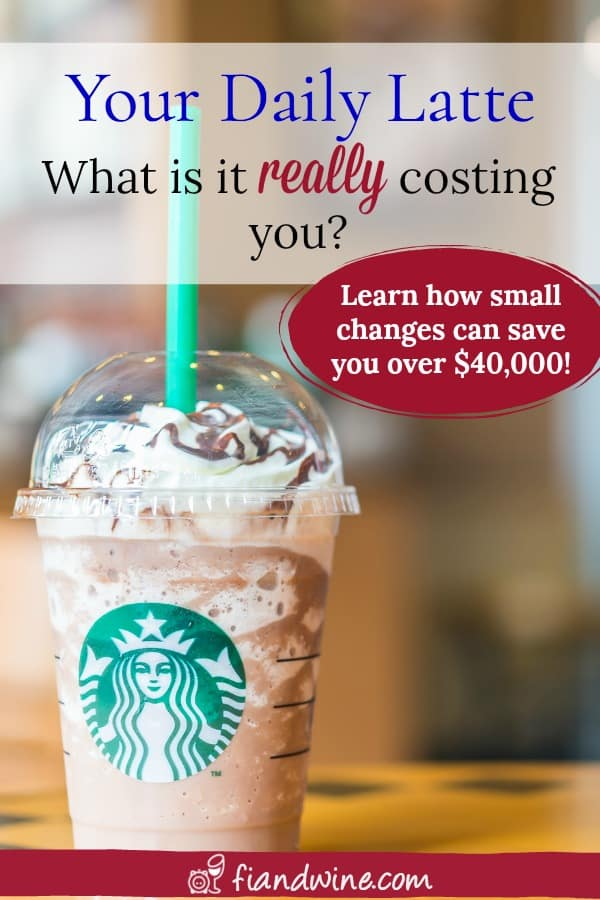 Learn how everyday small expenses add up to thousands of dollars in missed savings. Personal Finance | Save money | Budgeting | Debt Payoff | Build Wealth | Track finances #savemoney #budgeting