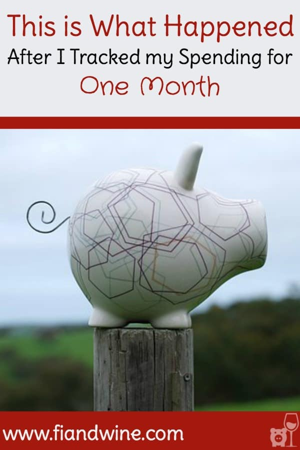 Personal Finance lessons learned when tracking finances for one month