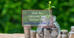 Calculate your savings rate for a better financial future