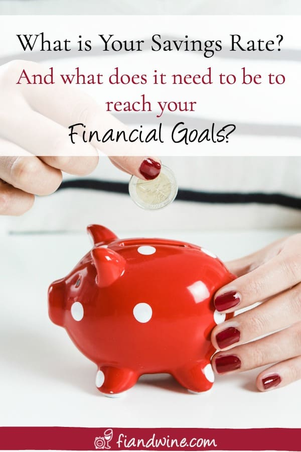 Do you know how much money you are saving? Is it enough to reach your financial goals? Find out how to calculate your savings rate and why it is so important to your future goals. Personal Finance | Savings | Save more | Save money | Financial Goals