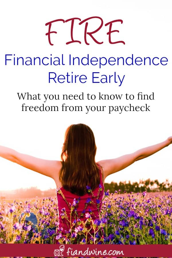 Learn what the FIRE financial independence movement is about and how you can find your own freedom. You'd be surprised how easy it can be. Financial Freedom | Wealth Building | Save Money | Debt Payoff #financialindependence #retirement #debtfree