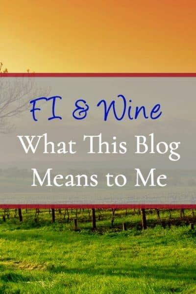 About FI & Wine Blog