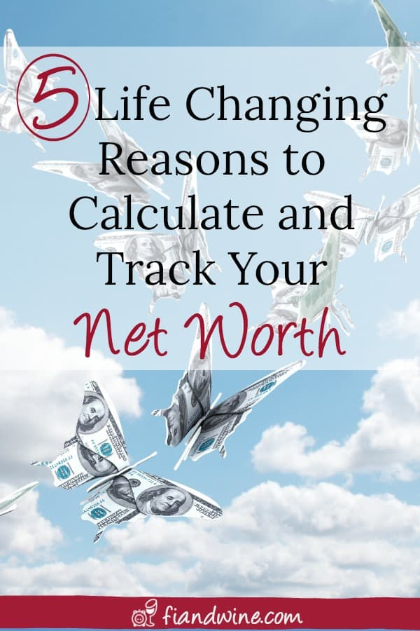 Do you know what your net worth is? Learn how to calculate your net worth and the 5 essential reasons you need to know that number, and track your progress over time. Personal Finance | Wealth Building | Save Money | Financial Freedom | Financial Independence | Money Management #personalfinance #retirement