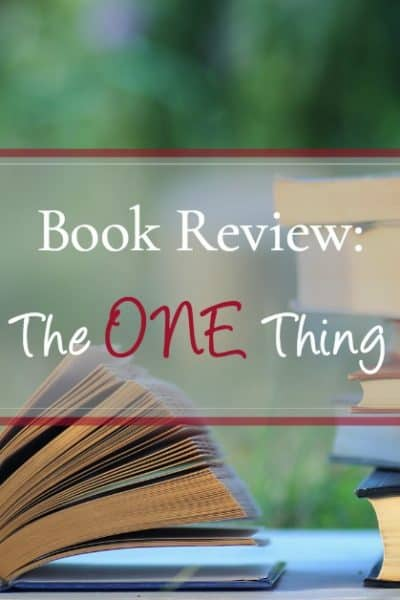 What I learned from reading The ONE Thing