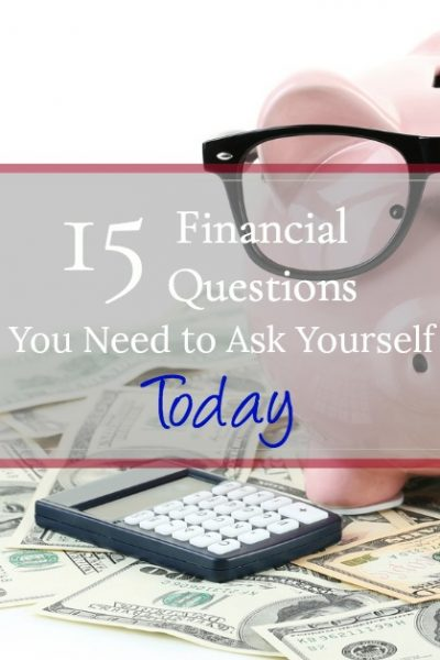 Reset your financial views with these top 15 important financial questions to ask yourself today