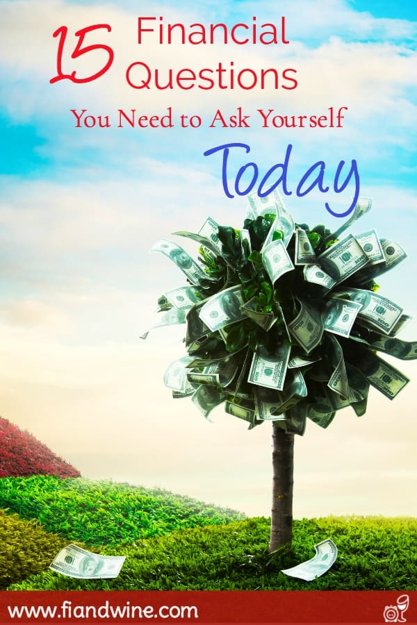 Improve your finances today by reviewing these 15 money questions. Personal Finance | Save Money | Money Management | Tips | Budget
