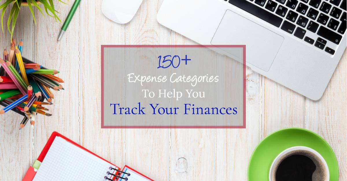 easily track your finances with these 150+ spending categories