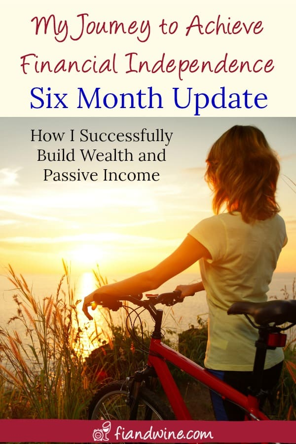 Learn how I increased my net worth by over $40,000 and added monthly passive income in just a few months! Wealth building | Financial Independence | Passive Income | Blogging | Personal Finance