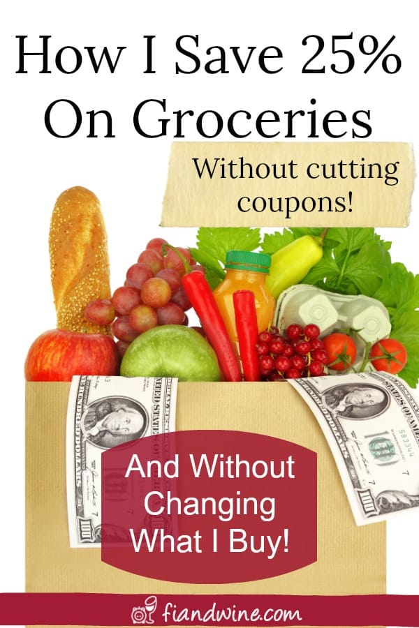Follow these easy steps to save hundreds every month on groceries, without cutting coupons or changing what you buy! Save Money | Personal Finance | Wealth Building | Financial Freedom | Financial Independence | Budgeting