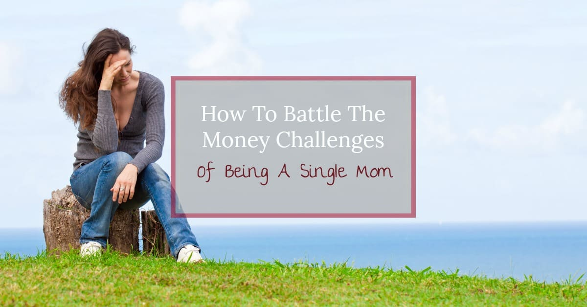 Do you often wonder why life as a single mom is so hard? Find out how to overcome the 4 major money challenges of being a single mom.