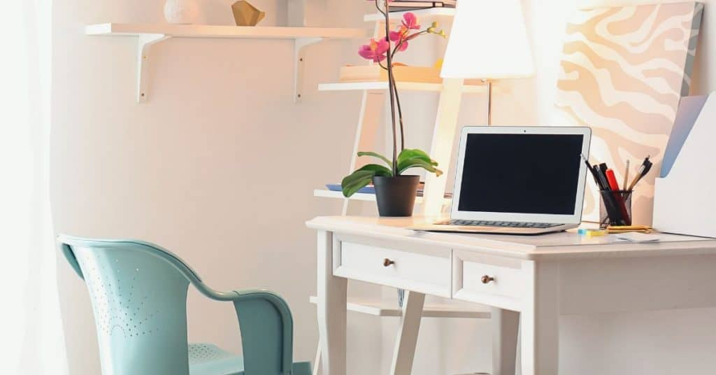 Soothing feminine workspace - why creating balance in your life hurts productivity