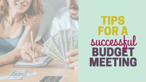 How to have a budget meeting with your spouse