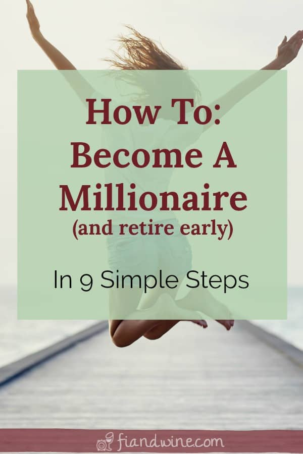 Learn the small little steps you can take now to save more money and retire early. Oh, and become a millionaire! Money | Investing Money | How to be rich | Tips | Save Money | Financial Planning #millionaire #moneytips #savemoney #becomeamillionaire #retireearly #financialfreedom #financialindependence