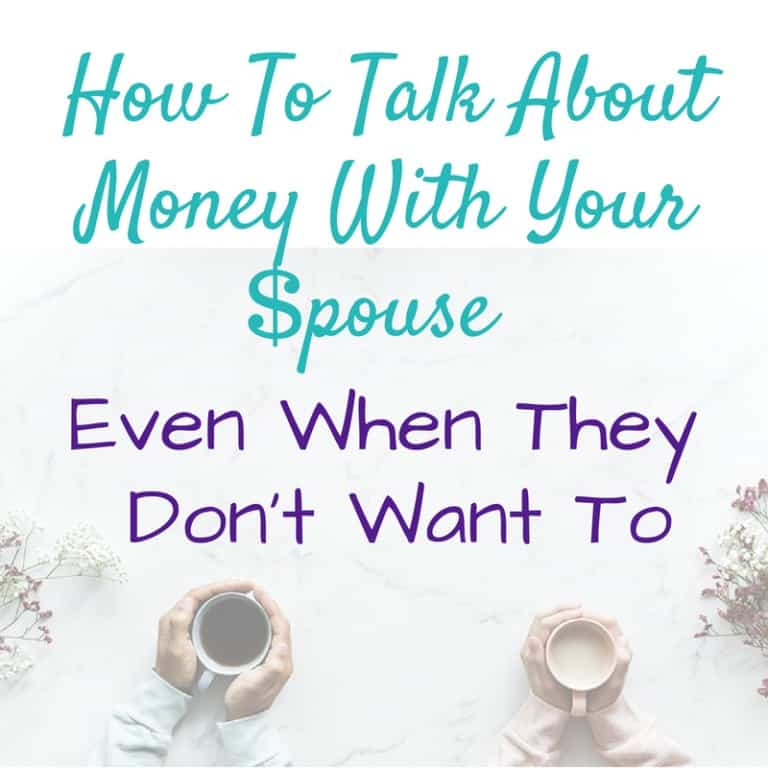 How to talk about money with your spouse - even when they don't want to