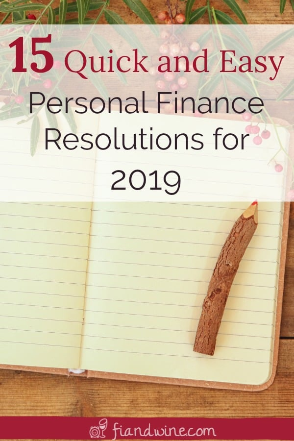 Make this the year that you take control of your finances, your budget and your goals by starting with these 15 personal finance resolutions. Wealth Building | Goal Setting | Personal Finance | New Year's Resolutions | #savemoney
