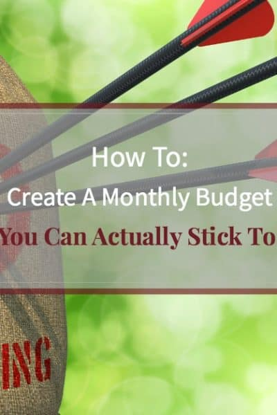 How to create a monthly budget you can stick to