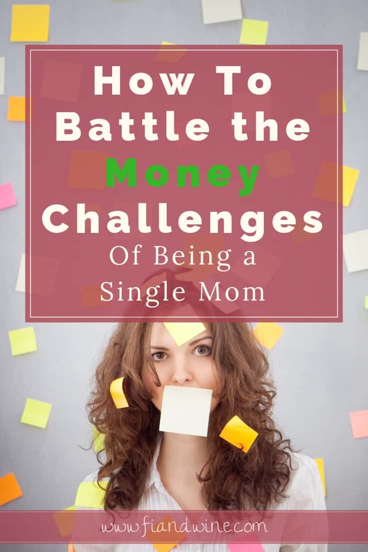 Learn how the four major challenges faced by single moms are effecting your personal finances! Single Mom Finance | Budget | Financial Planning | Money Struggles | #singlemomtips #singlemom #personalfinance