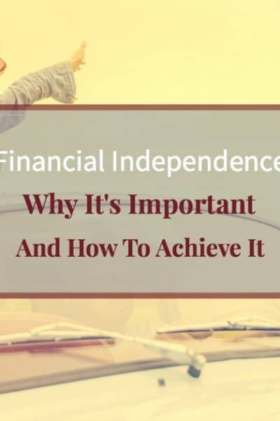"""Happy woman feeling free driving with setting sun """"Financial Independence Why It's Important and How To Achieve Financial Freedom"""""""