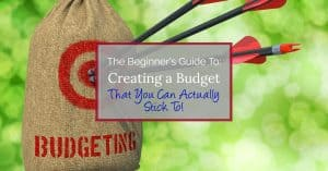 Learn the importance of tracking your finances and following a monthly budget to finally payoff debt and save more money today!