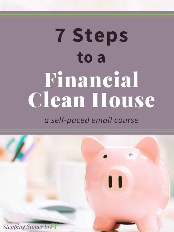 7 Steps to a Financial Clean House full workbook