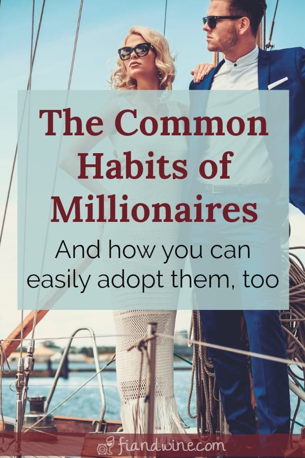 Portrait of a wealthy couple on a yacht. Learn what the average millionaire actually looks like and how to adopt the habits of wealth building.