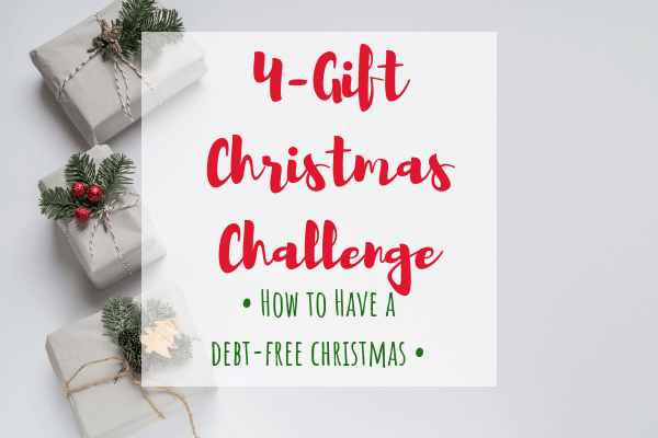 4-gift christmas challenge from House of FI
