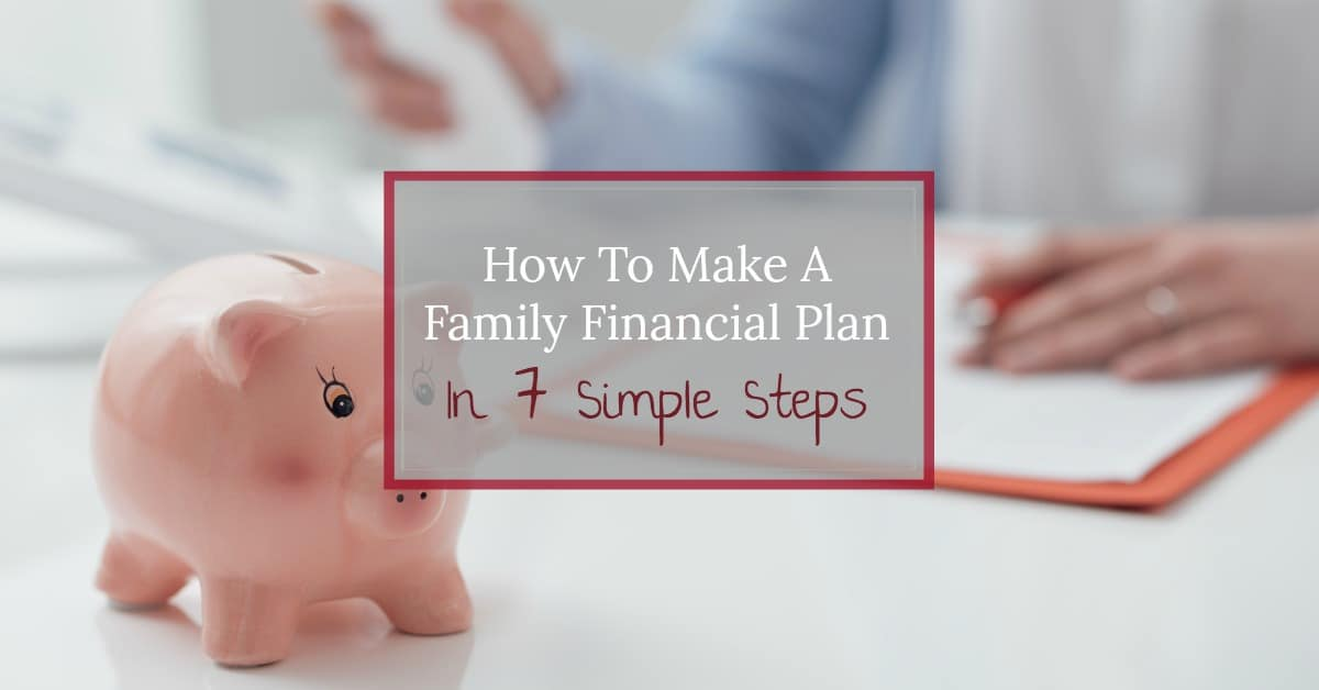 Creating a personal or household financial plan is not nearly as intimidating as you'd think. Learn the 7 easy steps to set your long term financial goals and set the path to follow to achieve the financial future you want.