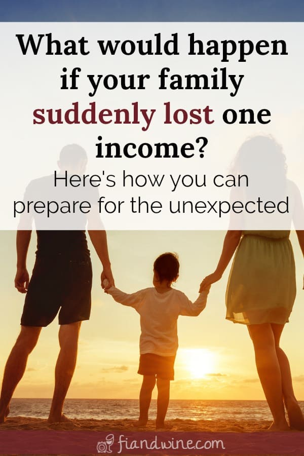 Young family walking together on beach at sunset, how to establish a family emergency binder and plan for the unexpected.