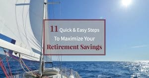 Follow these 11 steps for a secure retirement on a sailing boat with beautiful sunny blue sky