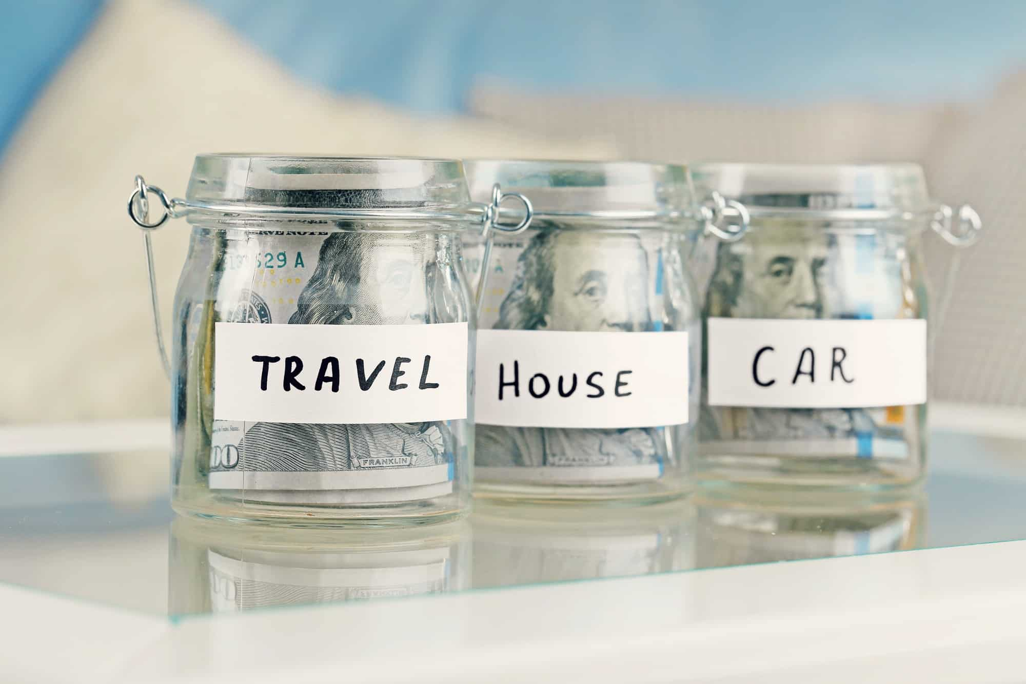 Use multiple savings accounts to prioritize different savings goals