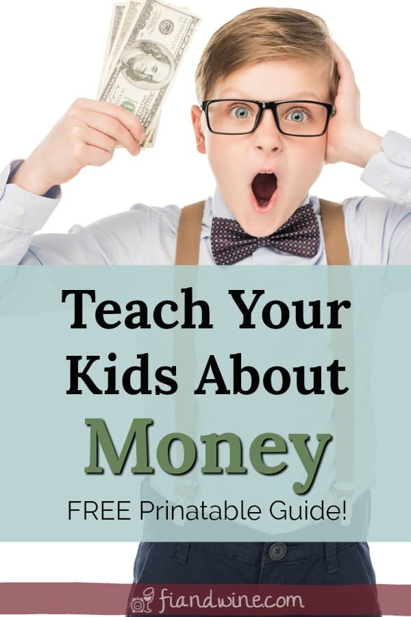 Boy surprised to have a handful of money. Teach your kids how to manage money and introduce personal finance skills to children and family.